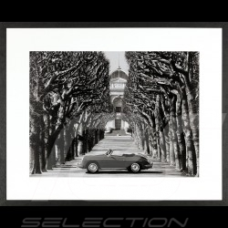 Cadre luxe Wall Art 356 Roadster in Paris 85 x 105 cm Luxury frame Luxusrahmen