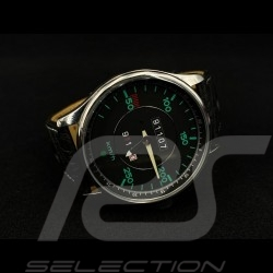 Uhr Porsche 911 Tachometer chrom Gehause / schwarz Wahl