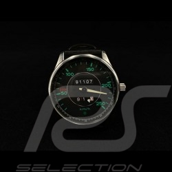 Watch 911 Classic  speedometer chrome case / black dial