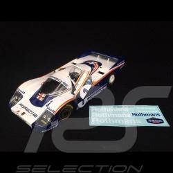 Porsche 956LH Winner Le Mans 1982 n° 1 Rothmans 1/18 Solido S1805501