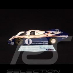 Porsche 956LH Vainqueur Le Mans 1982 n° 1 Rothmans 1/18 Solido S1805501