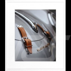 Cadre luxe Wall Art Sangles de capot vintage 356 Carrera 85 x 100 cm Luxury frame Luxusrahmen