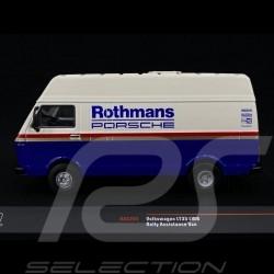 Volkswagen LT35 LWB Rothmans  véhicule d'assistance rallye 1/43 Ixo RAC285