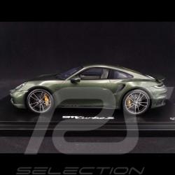 Porsche 911 Turbo S type 992 vert chêne 2020 1/18 Spark WAP02117C0L002