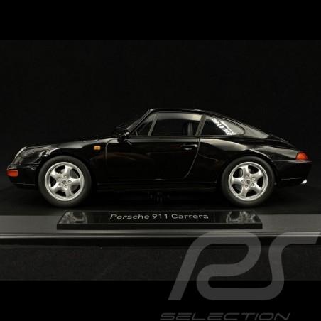 Porsche 911 type 993 Carrera Coupé 1993 black 1/18 Norev 187590