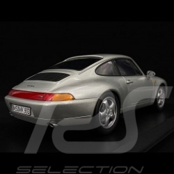 Porsche 993 Carrera Coupé 1993 grey 1/18 Norev 187591