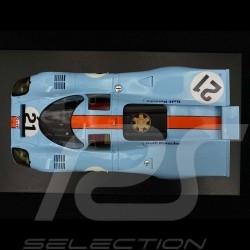 Porsche 917 K n° 21 Gulf Racing Rodriguez Kinnunen 24h du Mans 1970 1/18 CMR CMR128