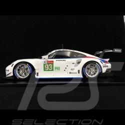 Porsche 911 RSR type 991 n° 93 Brumos Platz 3 LMGTE Pro Class Le Mans 2019 1/12 Spark 12S020