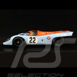 Porsche 917 K 24h du Mans 1970 n° 22 Gulf Racing Hobbs Hailwood 1/18 Spark 18S419