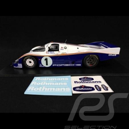 Porsche 956 24h Le Mans 1982 n° 1 Rothmans 1/18 Spark 18S425