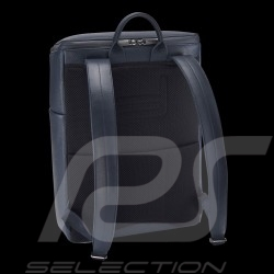 Porsche backpack / laptop bag Leather Cervo 2.1 SVZ Graphite blue Porsche Design 4090002954