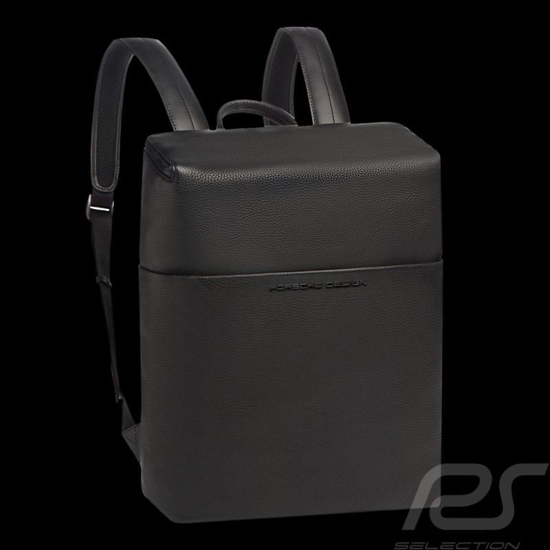 Porsche backpack / laptop bag Leather Cervo 2.1 SVZ Black Porsche Design 4090002900