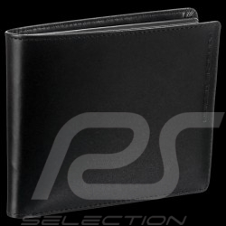 Porsche Design wallet Classic Line 2.1 H10 Credit card holder 3 flaps Black leather 4090002487