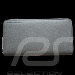 Portefeuille Porsche Porte-monnaie cuir gris French Classic 2.0  H15z Porsche Design 4090001070