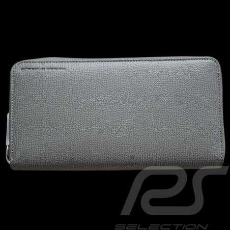 Porsche wallet money holder Grey Leather French Classic 2.0  H15z Porsche Design 4090000022