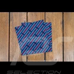 Martini stripes neck gaiter Blue / red