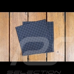Neck gaiter Pepita pattern black / grey