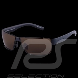 Porsche sunglasses black frame / brown lenses WAP0785090JA64 - unisex