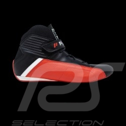 Piloti Pilot shoes Pinnacle FIA Red / Black Leather boot - men