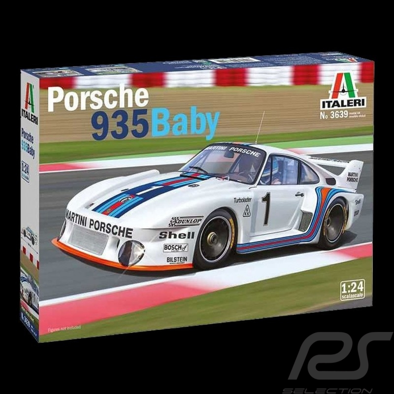 Kit Porsche 935 Baby 1977 Martini 1/24 Italeri 3639