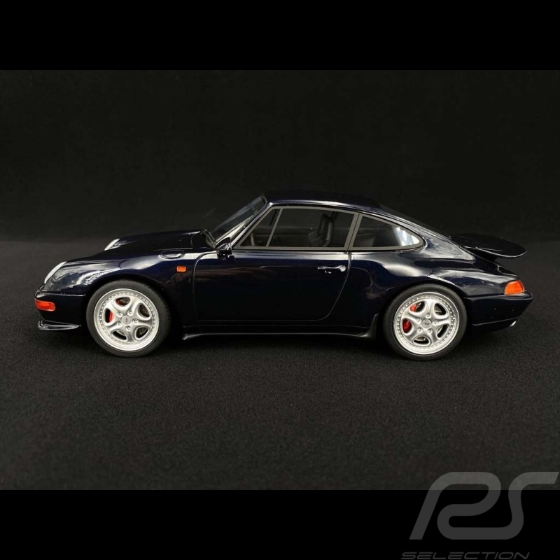 Porsche 911 Carrera RS type 993 midnight blue 1995 1/18 GT Spirit GT314