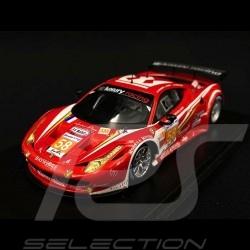 Ferrari 458 GT2 Luxury Racing Le Mans 2012 n° 58 1/43 Fujimi FJM1343006