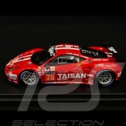Ferrari 458 Italia Team Taisan n° 70 LM GTE Am Le Mans 2014 1/43 Looksmart LSLM04