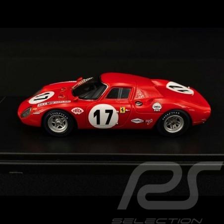 Ferrari 250 LM n° 17 24H Le Mans 1969 1/43 Looksmart LSLM060