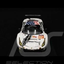 Ferrari 488 GTE Scuderia Corsa n° 62 24H Le Mans 2017 1/43 Looksmart LSLM073