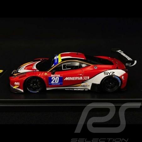 Ferrari 458 Italia AKKA ASP n° 20 GT Tour 2015 1/43 Looksmart LSRC00-B