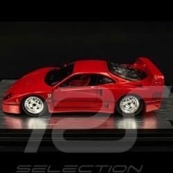 Ferrari F40 rouge rosso 1988 1/43 Red Line RL040