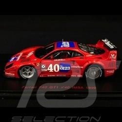 Ferrari F40 GT1 n° 40 IMSA 1990 1/43 Red Line RL071
