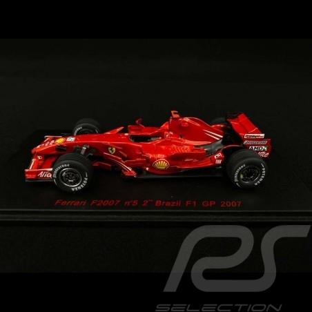 Ferrari F2007 n° 5 Felipe Massa 2nd Brazilian F1 GP 2007 1/43 Red Line RL149