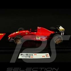 Ferrari 412 T2 F1 Jean Alesi n° 27 Vainqueur Winner Sieger GP Canada 1995 1/43 Fujimi TSM11FJ012