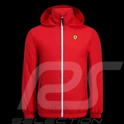 Ferrari Windbreaker Jacket Red Scuderia Ferrari Official Collection - men