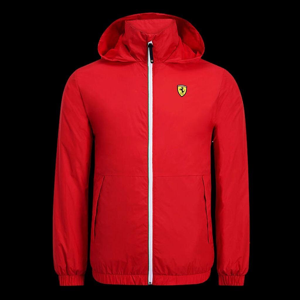 Ferrari Scuderia Veste rembourr/ée /à capuche et fermeture /Éclair pour homme Rouge Tailles XS-XXL