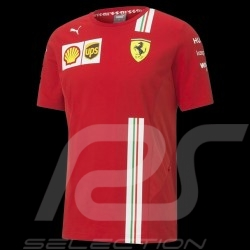 T-shirt Ferrari rouge Collection Ferrari Team by Puma - homme