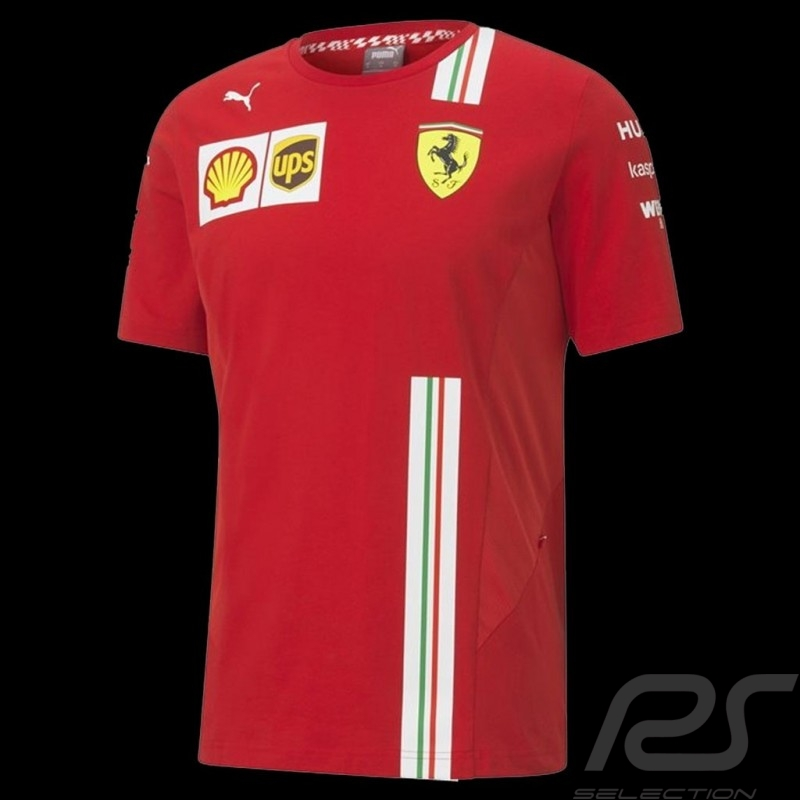 Ferrari t-shirt Red Ferrari Team by Puma Collection - men