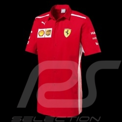 Polo Ferrari rouge Collection Ferrari Team by Puma - homme