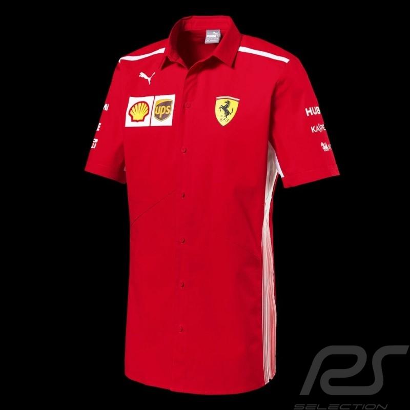Ferrari Polo-shirt Red Ferrari Team by Puma Collection - men