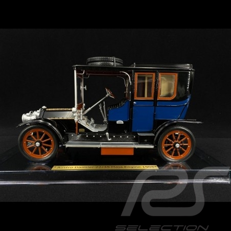 Ferdinand Porsche Austro Daimler 28/32 Maja 1908 blau 1/18 fahrTraum 3008