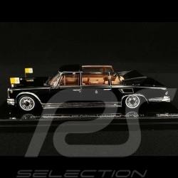 Mercedes Benz 600 Landaulet Papst Paul VI 1965 schwarz 1/43 True Scale TSM124352