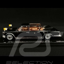 Mercedes Benz 600 Landaulet Pope Paul VI 1965 black 1/43 True Scale TSM124352