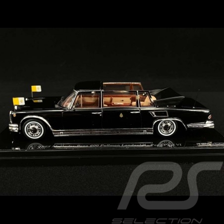 Mercedes Benz 600 Landaulet Pope Paul VI 1965 black 1/43 True Scale TSM124352