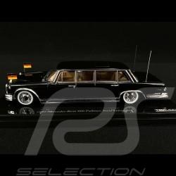 Mercedes Benz 600 Pullman 1963 Staats Limousine schwarz 1/43 True Scale TSM124353