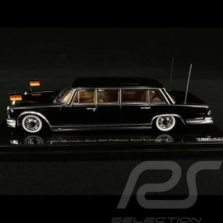 Mercedes Benz 600 Pullman 1963 State Limousine black 1/43 True Scale TSM124353