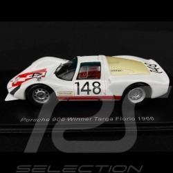 Porsche 906 Winner Targa Florio 1966 n° 148 1/43 Spark 43TF66