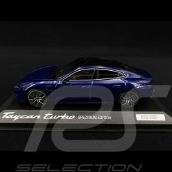 Porsche Taycan Turbo Spectrum Edition 2020 gentian blue 1/43 Minichamps WAP0200880M003