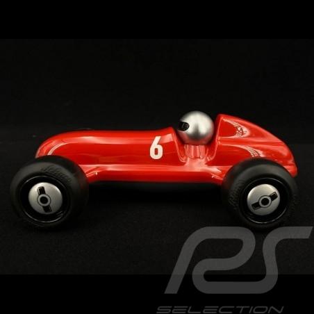 Vintage Rennwagen für Kinder Rot / Schwarz Holzauto Schuco 450987100