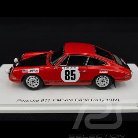 Porsche 911 T Monte Carlo Rally 1969 n° 85 1/43 Spark S6608